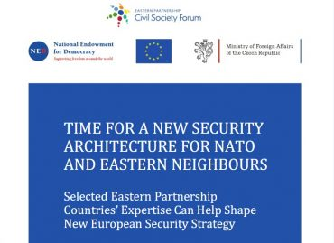 Time for a New Security Architecture for NATO and Eastern Neighbours