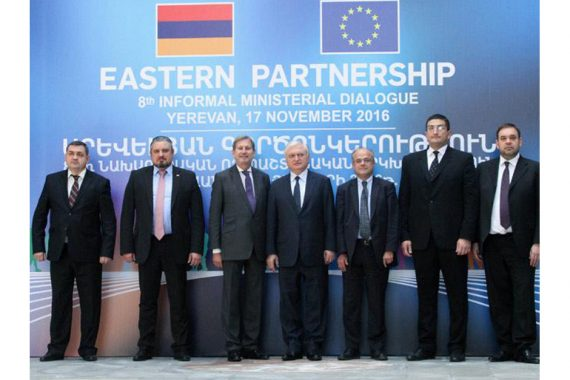 EaP CSF Participates At The 8th Eastern Partnership Informal Ministerial Dialogue
