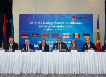 EaP CSF Addresses Foreign Ministers and EU Officials at the 9th EaP Informal Partnership Dialogue in Chisinau