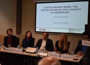 IPHR and OSEPI Roundtable and Report Presentation on Human Rights Defenders in Azerbaijan