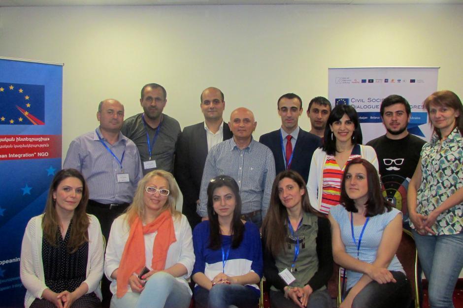 Организации гражданского общества из регионов Армении улучшили свои навыки управления проектами