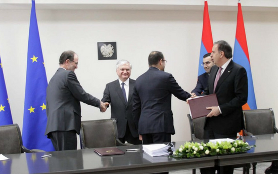 Statement on the EU-Armenia Comprehensive and Enhanced Partnership Agreement