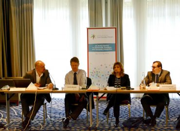 """Working Group 1 """"Democracy, Human Rights, Good Governance and Stability"""" Meeting"""