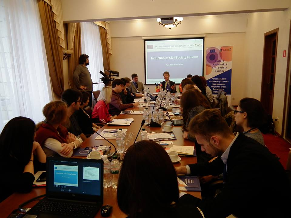 Twenty EaP Civil Society Fellows – young civil activists from Armenia, Azerbaijan, Belarus, Georgia, Moldova and Ukraine, gathered in Kyiv for the Orientation Meeting of the 2017 EaP Civil Society Fellowship Programme