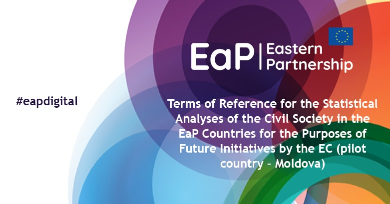 Terms of Reference for the Statistical Analyses of the Civil Society in the EaP Countries for the Purposes of Future Initiatives by the EC (pilot country – Moldova)