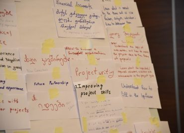 Georgian civil society organisations and local authorities are enhancing their knowledge and skills in applying for grants under European Union Programmes