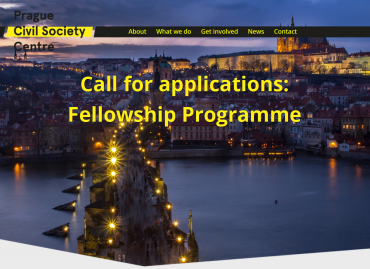 Prague Civil Society Centre: Call for Applications for a three-month research residency for civil society activists, researchers and journalists