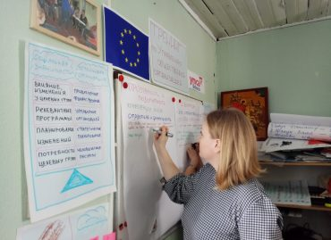 Young people from YMCA Belarus network gathered in Volozhyn (Belarus) to strengthen their competences in the area of democratic governance