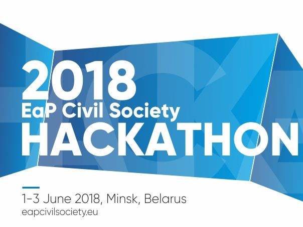 2018 EaP Civil Society Hackathon – Media Invited for the Official Opening on 1 June!