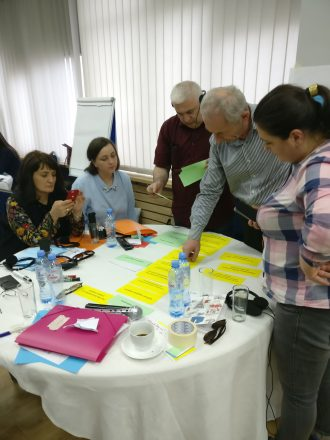 Training events on grant applications for the EU's CSO-LA and EIDHR Programmes in Georgia held on 24-27 April in Tbilisi