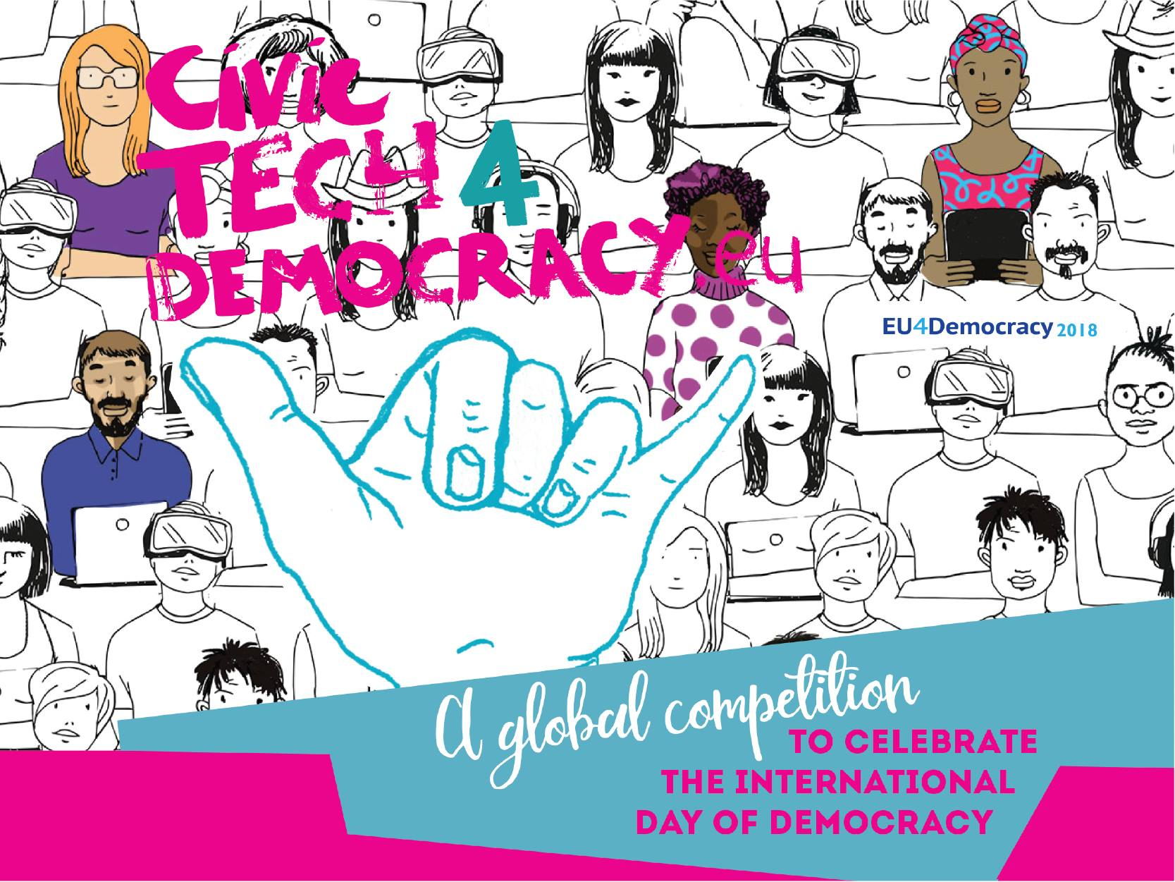 #CivicTech4Democracy: The EU's Global Competition to Celebrate the  International Day of Democracy – apply before 31 July 2018!