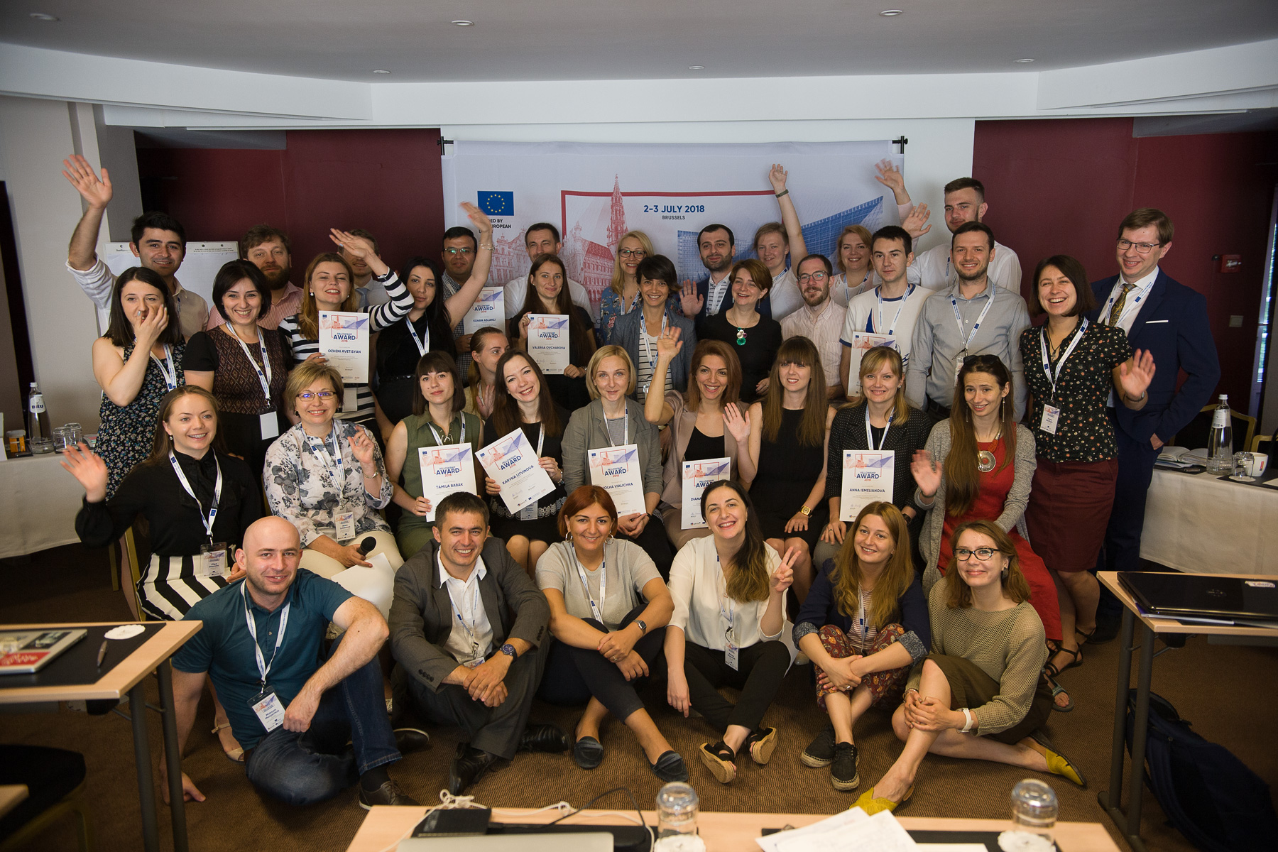 Relay Event for Young Civil Society Leaders from the Eastern Partnership Countries