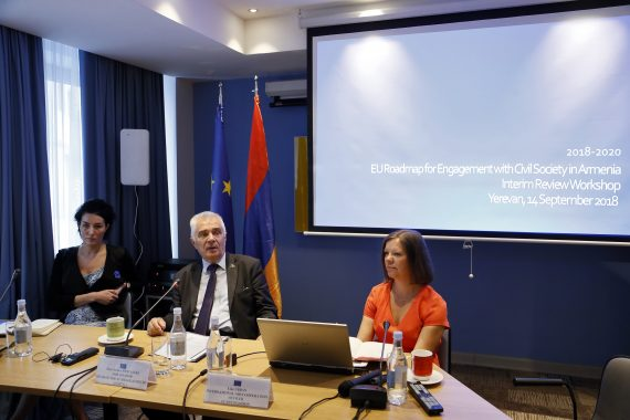 Consultations on the new Roadmap for Engagement with Civil Society in Armenia