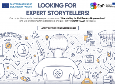 Looking for Expert Storytellers!