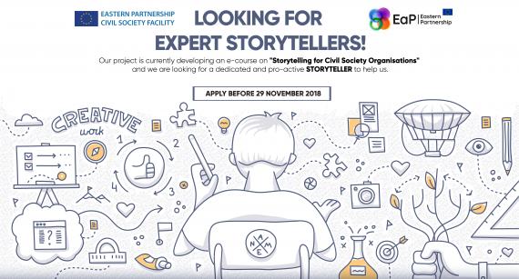 Looking for Expert Storytellers!