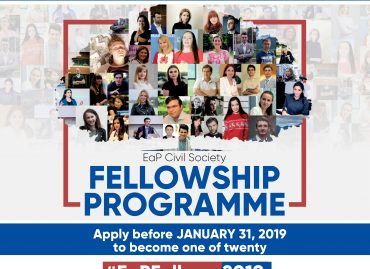 Call for Applications under 2019 EaP Civil Society Fellowships: Supporting Young Civil Society Leaders in Eastern Partnership Countries