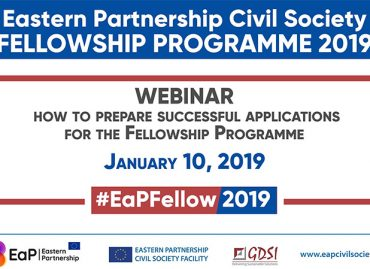 1st Webinar on How to Prepare Successful Applications for the the 2019 Eastern Partnership Civil Society Fellowship Programme