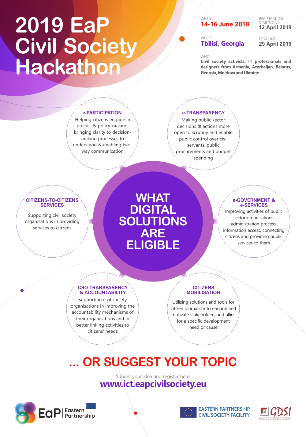 2019 EaP Civil Society Hackathon: What Digital Solutions are