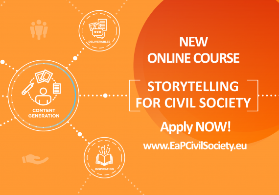 Storytelling for Civil Society: Apply for our new Online Course