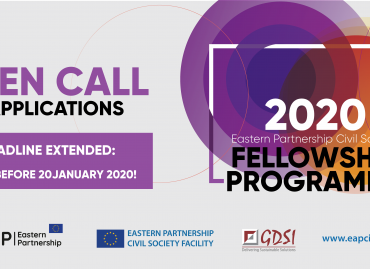 Extended Deadline for the Call for Applications under the 2020 Eastern Partnership Civil Society Fellowship Programme: Apply by 20 January