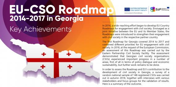 EU-CSO Roadmap 2014-2017 in Georgia: Key Achievements