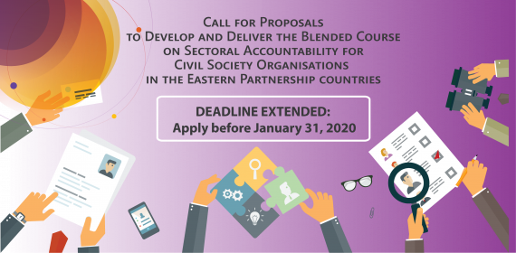 Extended Deadline for the Call for Proposals to Develop and Deliver the Blended Course on Sectoral Accountability for Civil Society Organisations (Energy Sector)