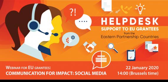 Webinar for EU Grantees / Communication for Impact: Social Media
