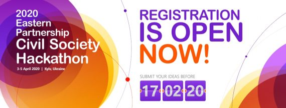 #IT4Society: Registration for 2020 EaP Civil Society Hackathon is Open Now!