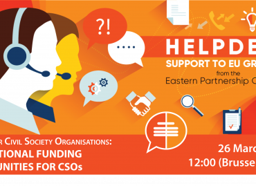 Webinar for CSOs from EaP Countries / International Funding Opportunities for CSOs