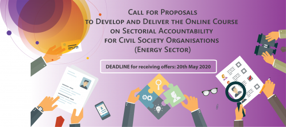 Clarifications (Q&A) on the Call for Proposals to Develop and Deliver an Online Course on Sectoral Accountability for CSOs (Energy Sector)