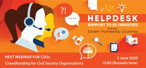 Crowdfunding for CSOs / Webinar, 3 June 2020