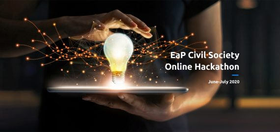16 Project Ideas from 6 EaP countries selected for 2020 EaP Civil Society Hackathon