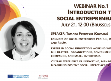 Series of Webinars on Social Entrepreneurship