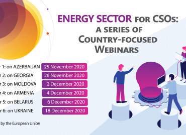 A series of Country-focused Webinars on Energy Sector for CSOs