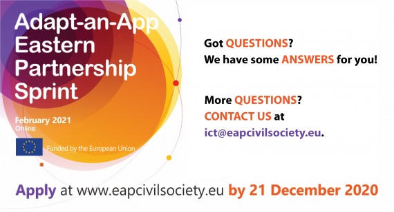 Adapt-an-App Eastern Partnership Sprint: QUESTIONS & ANSWERS