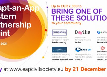 Adapt-an-App Eastern Partnership Sprint: Call for Applications