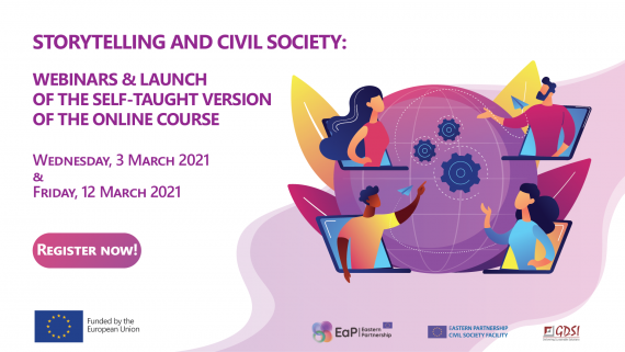 Storytelling and Civil Society: Webinars and Launch of the Online Course