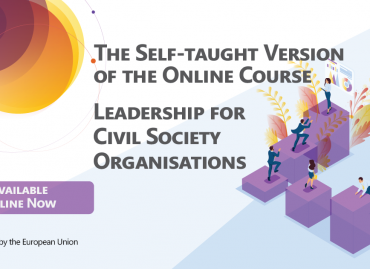 The Self-taught Version of the Course on Leadership for Civil Society is Online Now!