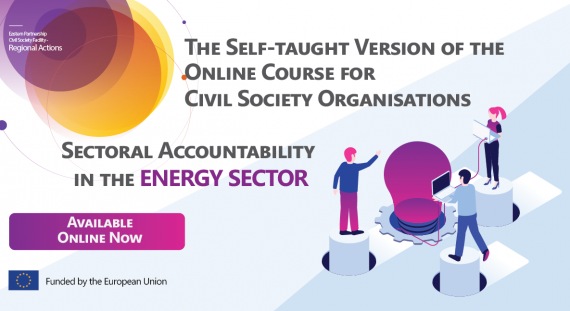The Self-taught Version of the Course for CSOs on Sectoral Accountability in the Energy Sector is Online Now!