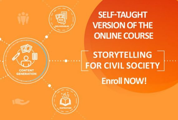 The Self-taught Version of the Course on Storytelling for Civil Society is online now!