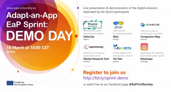 Demo Day of the Adapt-an-App EaP Sprint / March 18, 2021