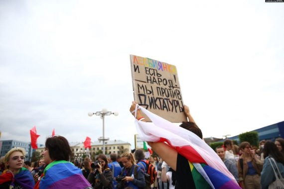 """#LocalCorrespondent Opinion / """"There Have Been Three Waves, Two Disappearing at Hand of Persecutions."""" Belarus' LGBTQI movement history and a """"new"""" future"""